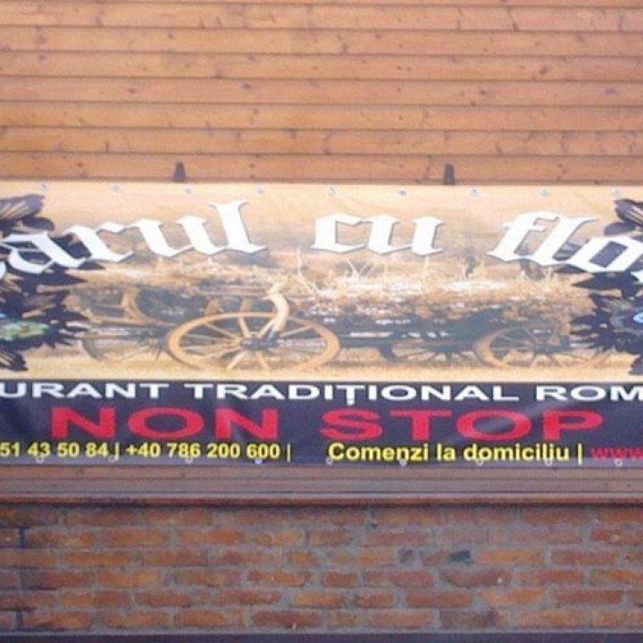 Restaurantul Carul CU Flori