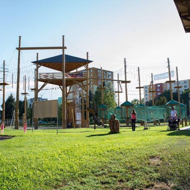 Lanové centrum Outdoor park Prešov