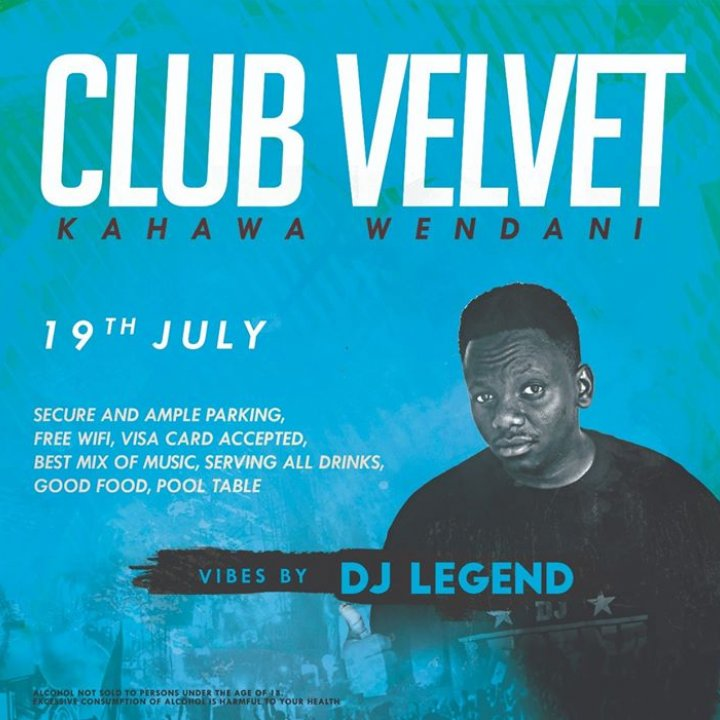 Club Velvet Kahawa Wendani