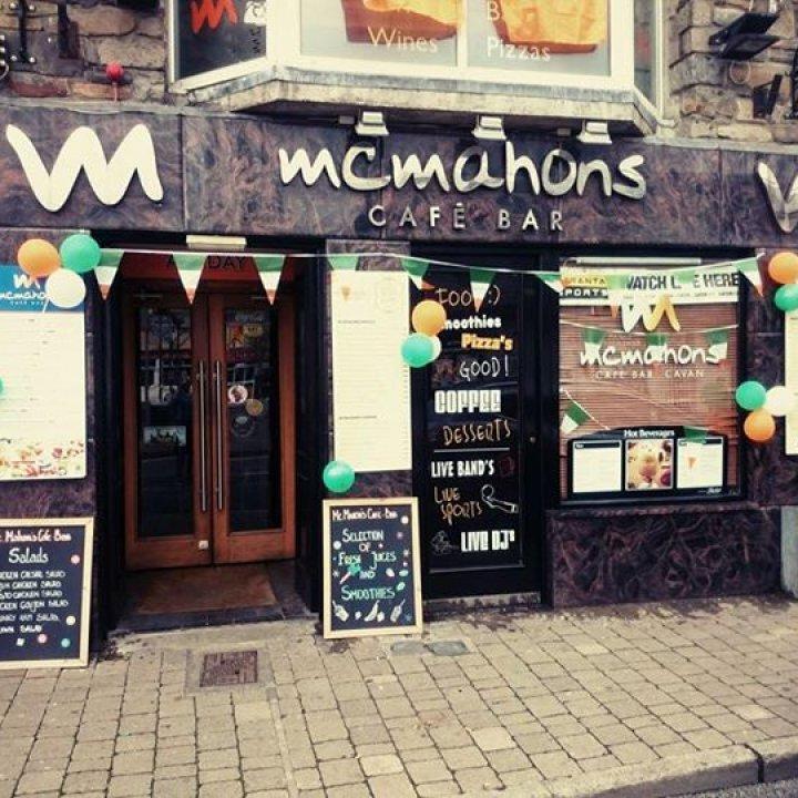Mc Mahon's Cafe Bar, Cavan town