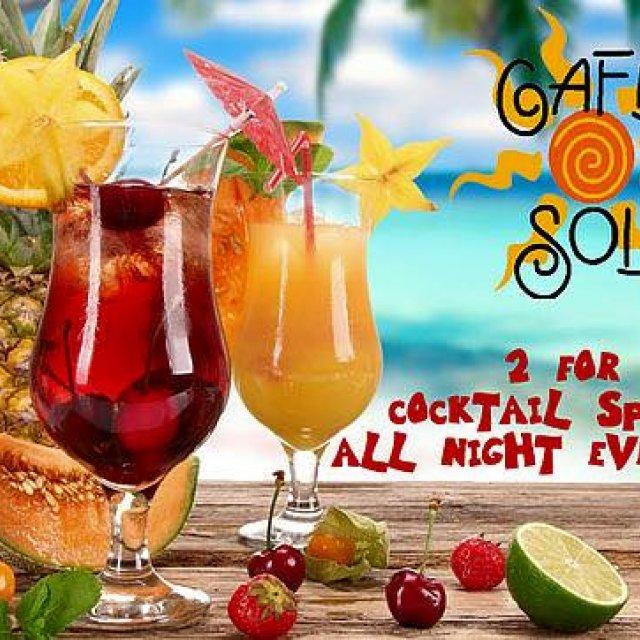 Café Sol ~ Mexican Grill & Margarita Bar