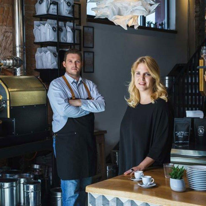 Kaffeemacher Kaffeerösterei